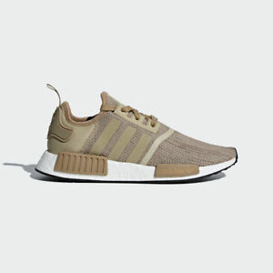 Adidas-Men-039-s-Originals-NMD-R1-NEW-AUTHENTIC-Brown-Raw-Gold-B79760