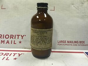 Vintage rare james masts no 5 coyote food scent lure bait glass image is loading vintage rare james mast 039 s no 5 sciox Image collections