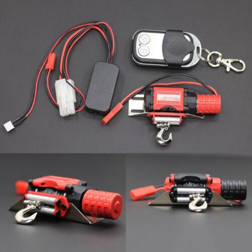 Metal WINCH REMOTE contrôleur pour 1//10 SCX10 D90 TRX4 KM2 RC ESCALADE SUR CHENILLES