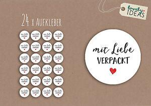 24-x-Geschenkaufkleber-034-mit-Liebe-verpackt-034-40mm-weiss-Etiketten-Aufkleber