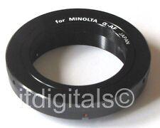 For Sony Alpha A560 A290 A390 A450 A850 A500 T2 T-Mount Adapter Japan U&S T-2