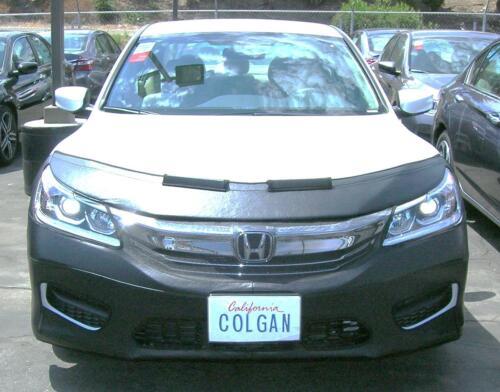 Colgan Front End Mask Bra 2pc.Fits Honda Accord 4DR EX,EXL,LX,Sport 16-17 W//OLic