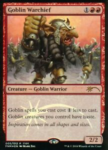 Goblin-Warchief-FOIL-Version-2-NM-FNM-Promo-Magic-MTG