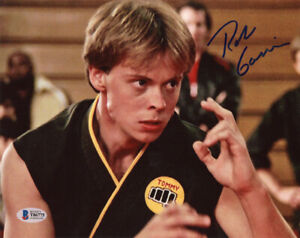 ROB-GARRISON-SIGNED-8x10-PHOTO-TOMMY-THE-KARATE-KID-COBRA-KAI-RARE-BECKETT-BAS