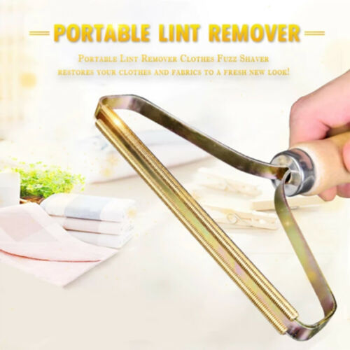 Lint Remover Portable Clothes Fuzz Shaver Fabrics Cleaner Restore Brush Tool New