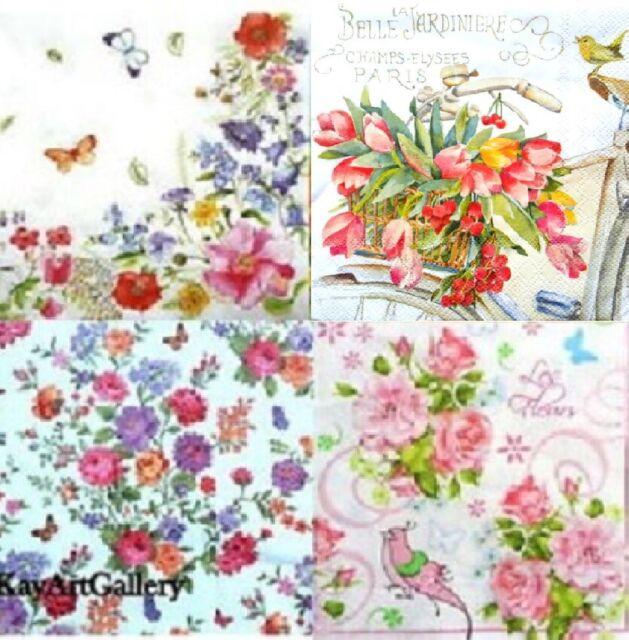 crafts scrapbooks Magic Forest design 4 x paper napkins for decoupage