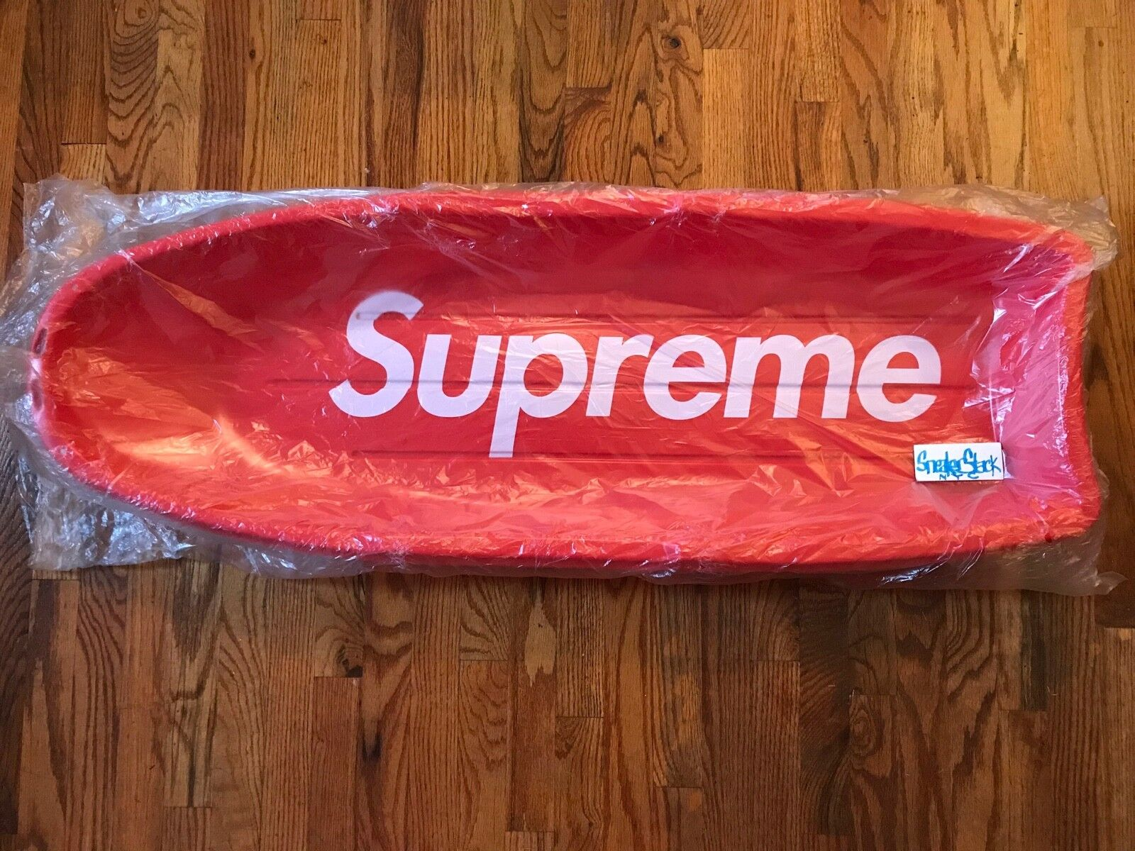 FW17 Supreme Sled - rot Accessory Heavyweight Plastic Brand New Authentic BOGO