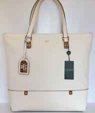 135cdac0ee item 7 Lauren Ralph Lauren Morrison Tote Vanilla Gold Genuine Leather  Handbag Large -Lauren Ralph Lauren Morrison Tote Vanilla Gold Genuine Leather  Handbag ...