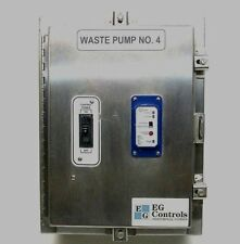 Nema Stainless Enclosure 12 4 4x Witheg Waste Pump Controlstatus System