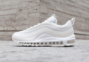 a062639d7ec Nike Air Max 97 Triple White Summit Summer Scales UK Sizes 6 7 8 9 ...