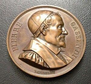 FRANCE/PIERRE GASSENDI/par Vatinelle/1818/médaille de bronze/41 mm/m 84
