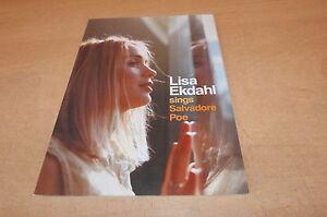 Lisa-Ekdahl-Salvatore-Poe-Rare-French-Promo-Bio