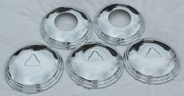 "TOYOTA LAND CRUISER--Landcruiser FJ40-45-55 Early Reproduction ""T"" HUBCAPS"
