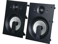 Klipsch PRO 4800 80W 2-Way In-Wall Home Audio Speaker (Pair)