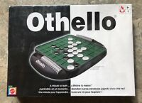 Othello Board Game By Mattel B3165 Strategy Brand Factory Sealed