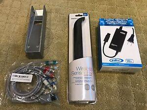 Image Is Loading Nintendo Wii Ac Adapter Cradle Wireless Sensor