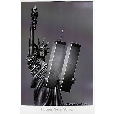 Robert Rauschenberg: I Love New York. 2001. Color Offset Memorial Poster.