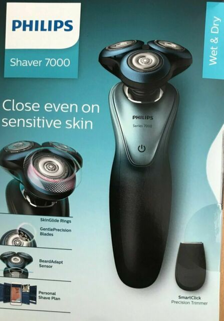 Philips Shaver 7000 Elektrischer Nass und Trockenrasierer (S794016)