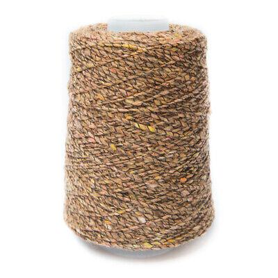 White 90/% cotton 10/% lurex New. Cotton /& Lurex knitting yarn no 14882