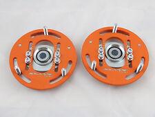 Camber Plates E30  3D true professionals Drift BMW for coilover orange