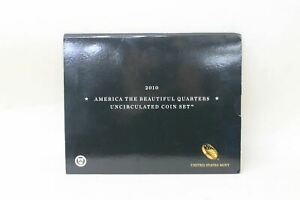 UNITED-STATES-MINT-2010-America-The-Beautiful-Quarters-Uncirculated-Coin-Set-NEW