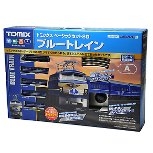 Tomix 90159 Blue Train Basic Set Sd - N