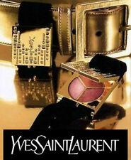 100% AUTHENTIC Ltd Edition YSL Couture Swarovski Makeup JEWELLED CHARM Bracelet