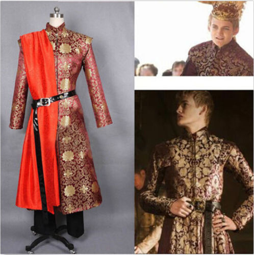 Game Of Thrones - New King Joffery Cosplay Costume Men's Clothes Suit