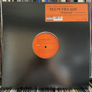 "SLUM VILLAGE - TAINTED b/w GET LIVE (12"")  2002!!  RARE!!  DWELE + SCOTT STORCH"