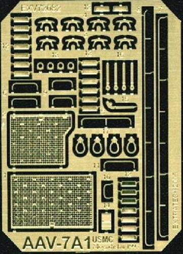 """KIT EXTRATECH 1//72 N° V72082 Set d/'amélioration /""""AAV-7A1 USMC/"""""""