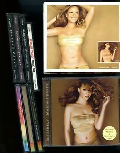 Mariah-Carey-9-CDs-Emotions-Unplugged-Butterfly-Rainbow-Charmbracelet-Music-Box
