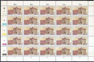 Stamps Südwestafrika 1981 Postfrisch Bogen-satz Minr Architecture 508-511 Bauten In Lüderitzbucht Price Remains Stable