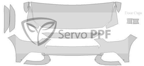 15 Ford Mustang Base 3M Scotchgard Pro Series Clear Bra Kit