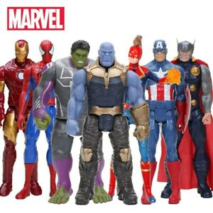 Avengers-figurine-30-cm-marvel-thanos-spiderman-hulk-endgame-seller-francais