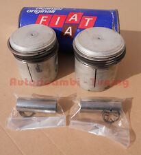 2 PISTONI COMPLETI X FIAT 500-126 600cc Ø 73,5mm +6/10 ORIGINALI FIAT