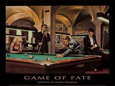 Chris Consani Game of Fate Movie Stars Billards Print Poster