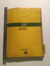 John Deere 4630tractor Parts Catalog Pc1296 Original May 1976 Amp November 1973