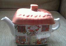 Sadler Teapot, tached cottage, collectable, novelty, ceramic porcelain, England