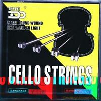 cheapest dadi cello strings set professional quality steel round wound