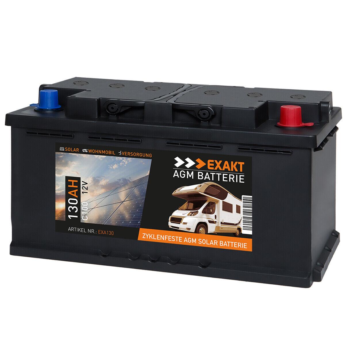 SOLIS Gel Batterie 100AH 12V Solar Wohnmobil Boot Schiff Versorgungs Mover Akku
