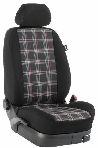 Reihe GTI//rot//schwarz VW T4 Multivan I Maß Sitzbezüge Einzelsitzbezug 2