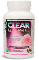 Clear Menopause 120 Caps Clear Products