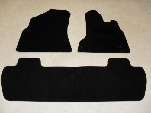 Citroen Berlingo Multispace 2008-on Fully Tailored Car Floor Mat Set in Black