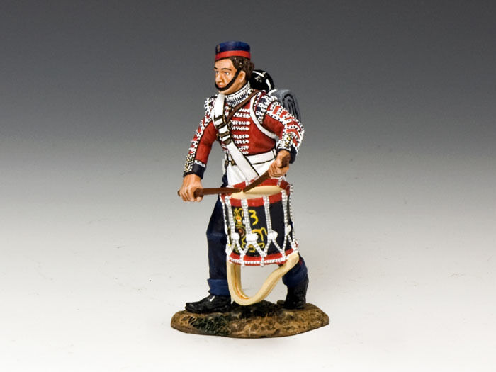 KING AND COUNTRY CRIMEAN British Infantry Drummer Boy CR006 CR06