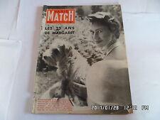 PARIS MATCH N°335 27/08/1955 LES 25 ANS DE MARGARET LEGION DOMINICI DISNEY   K22
