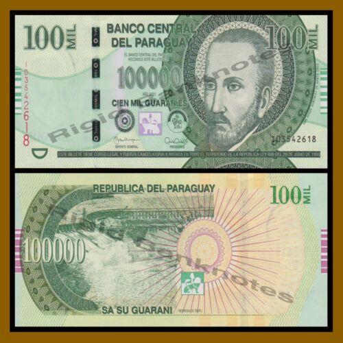 Paraguay 10000 20000 50000 100000 Guaranies 4 Pcs Set 2013//2015 P-New Unc