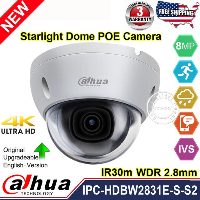 Dahua IPC-HFW1431S 4MP WDR IR Mini-Bullet Network IP Camera CCTV H265 30m IR 3.6