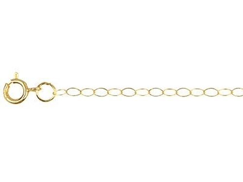 9ct Yellow Gold Trace Chain 16 18 20 inch /& Box  UK Made Quality  Fine Chain