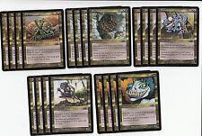 20x*Odyssey Atog Set*NM/SP*4x of each type*Psychatog Magic the Gathering MTG FTG