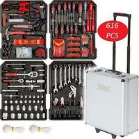 Tool Box Trolley Set Case Mechanics Kit Organizer Aluminum Kit Cabinet Large Big